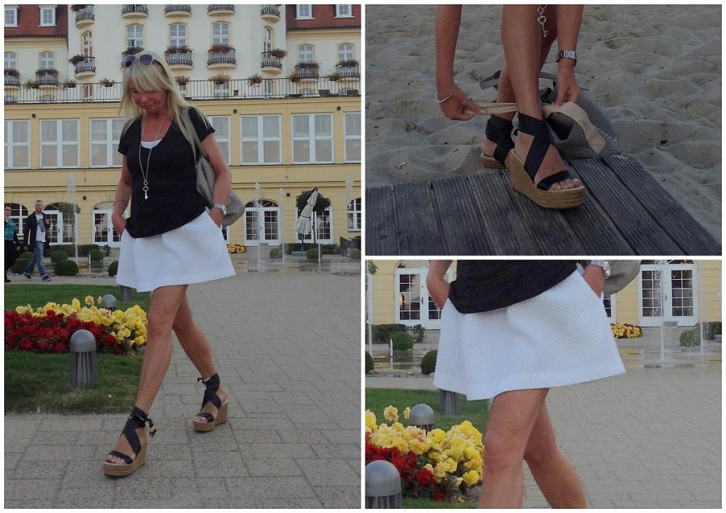 Mariola Bojarska-Ferenc 50+: Noszę mini!!!! - BlogStar.pl