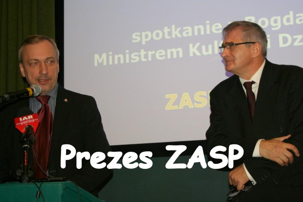 Olgierd Łukaszewicz - prezes ZASP