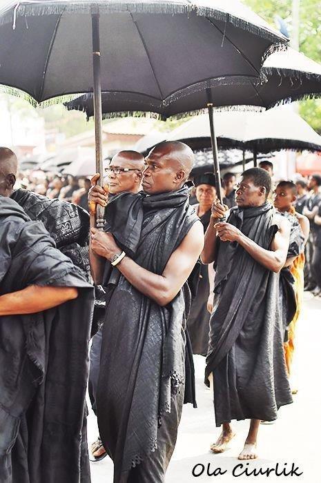 Pogrzeb w Ghanie - fot. Ola Ciurlik (1)