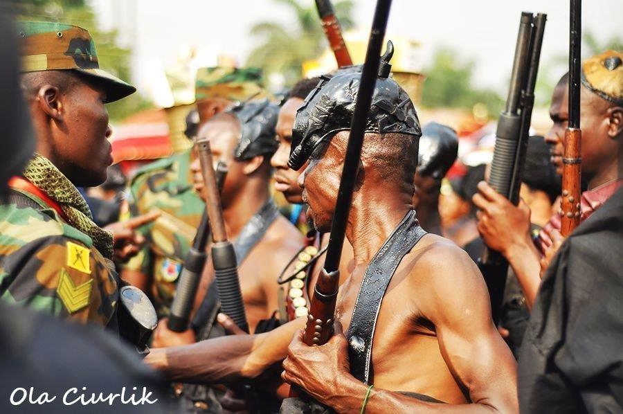 Pogrzeb w Ghanie - fot. Ola Ciurlik (29)