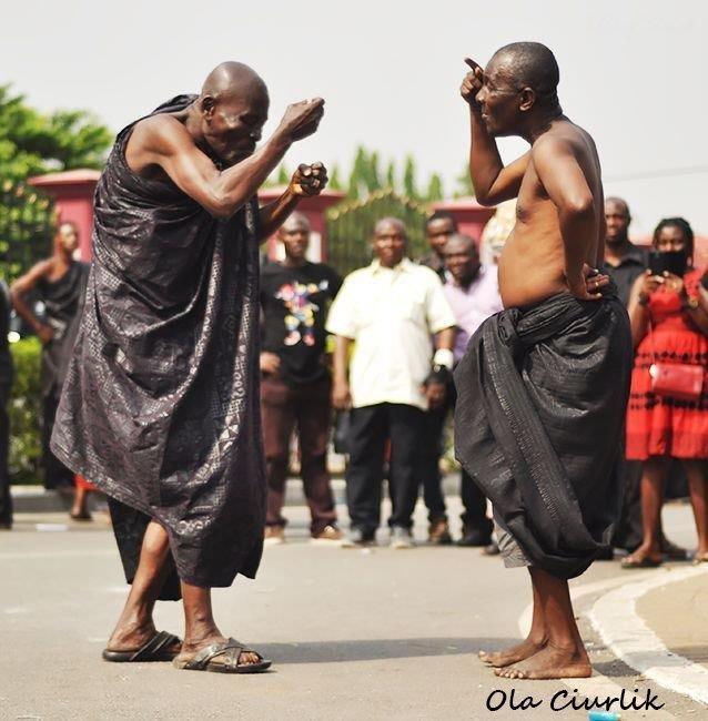 Pogrzeb w Ghanie - fot. Ola Ciurlik (6)