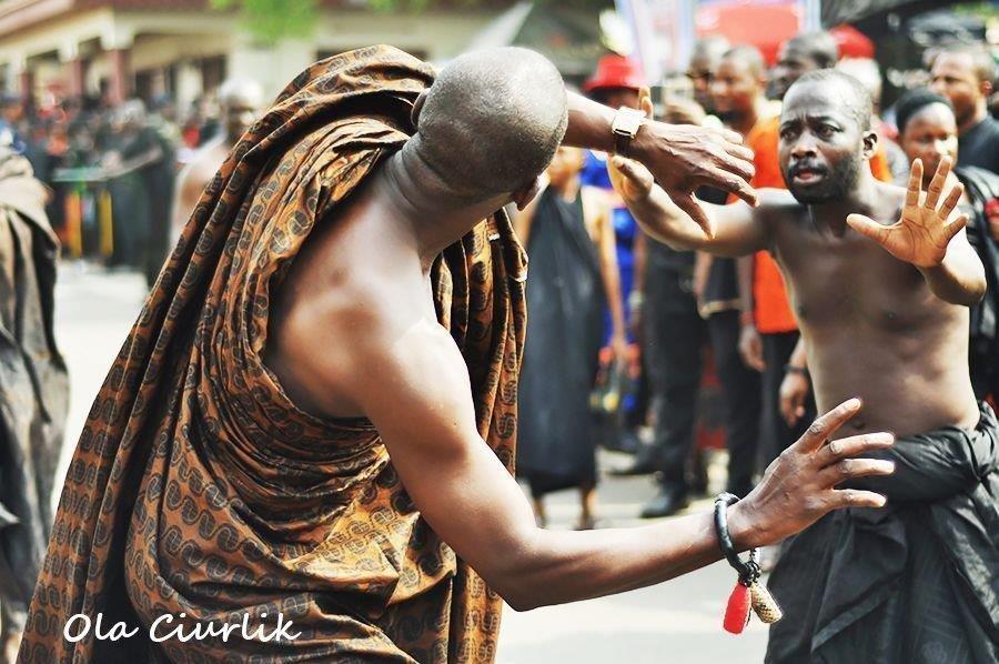 Pogrzeb w Ghanie - fot. Ola Ciurlik (7)