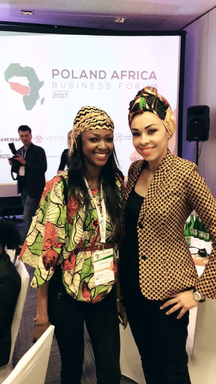 Omenaa Mensah na POLAND AFRICA BUSINESS FORUM (2)