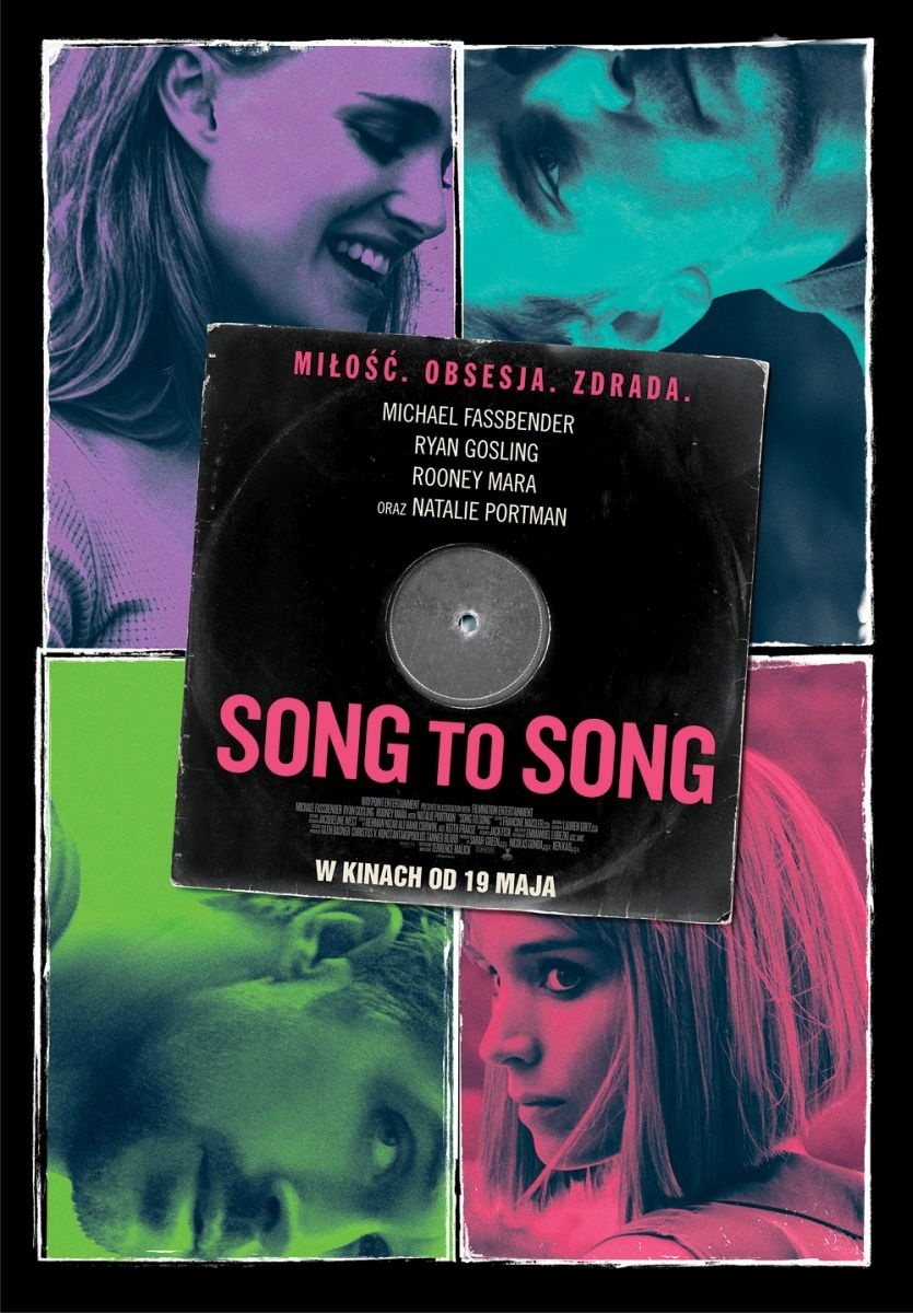 song to song - plakat pl