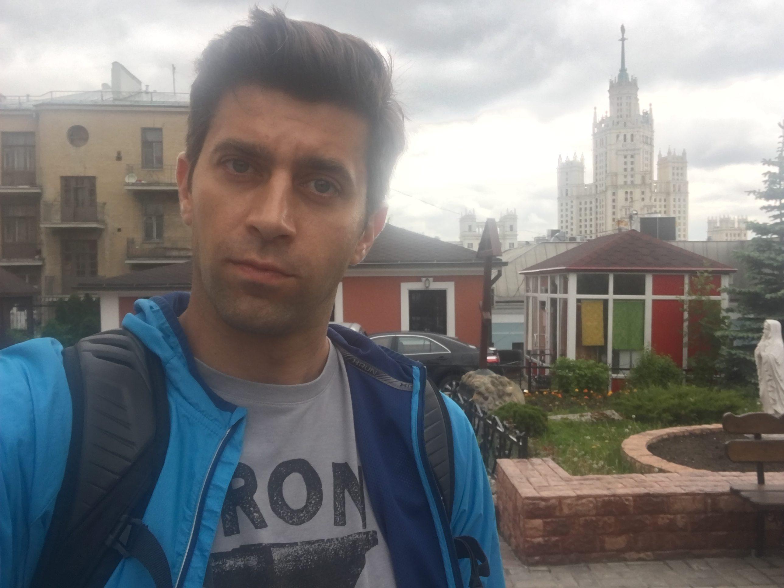 BlogStar: Krzysztof Wieszczek zwiedza Moskwę - BlogStar.pl