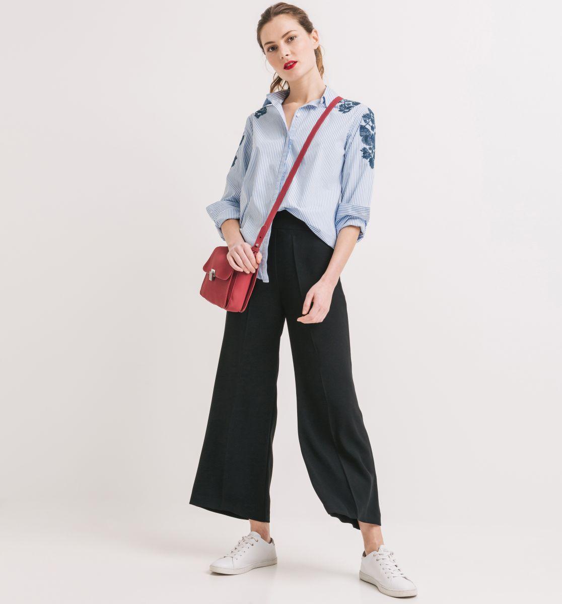 BlogStar: Spodnie z szerokimi nogawkami przebojem lata - BlogStar.pl