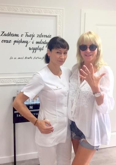 Mariola Bojarska-Ferenc 50+: Dłonie tak samo ważne jak reszta ciała - BlogStar.pl
