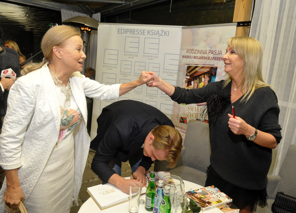 Mariola Bojarska-Ferenc 50+: Moje gotowanie z synem - BlogStar.pl