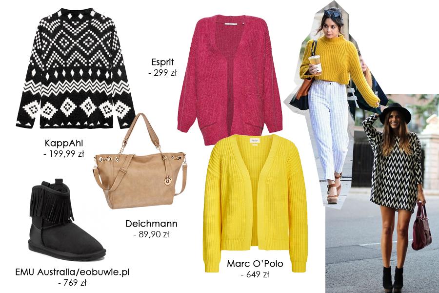 BlogStar: Kolorowe i ciepłe – swetry na jesienną niepogodę - BlogStar.pl