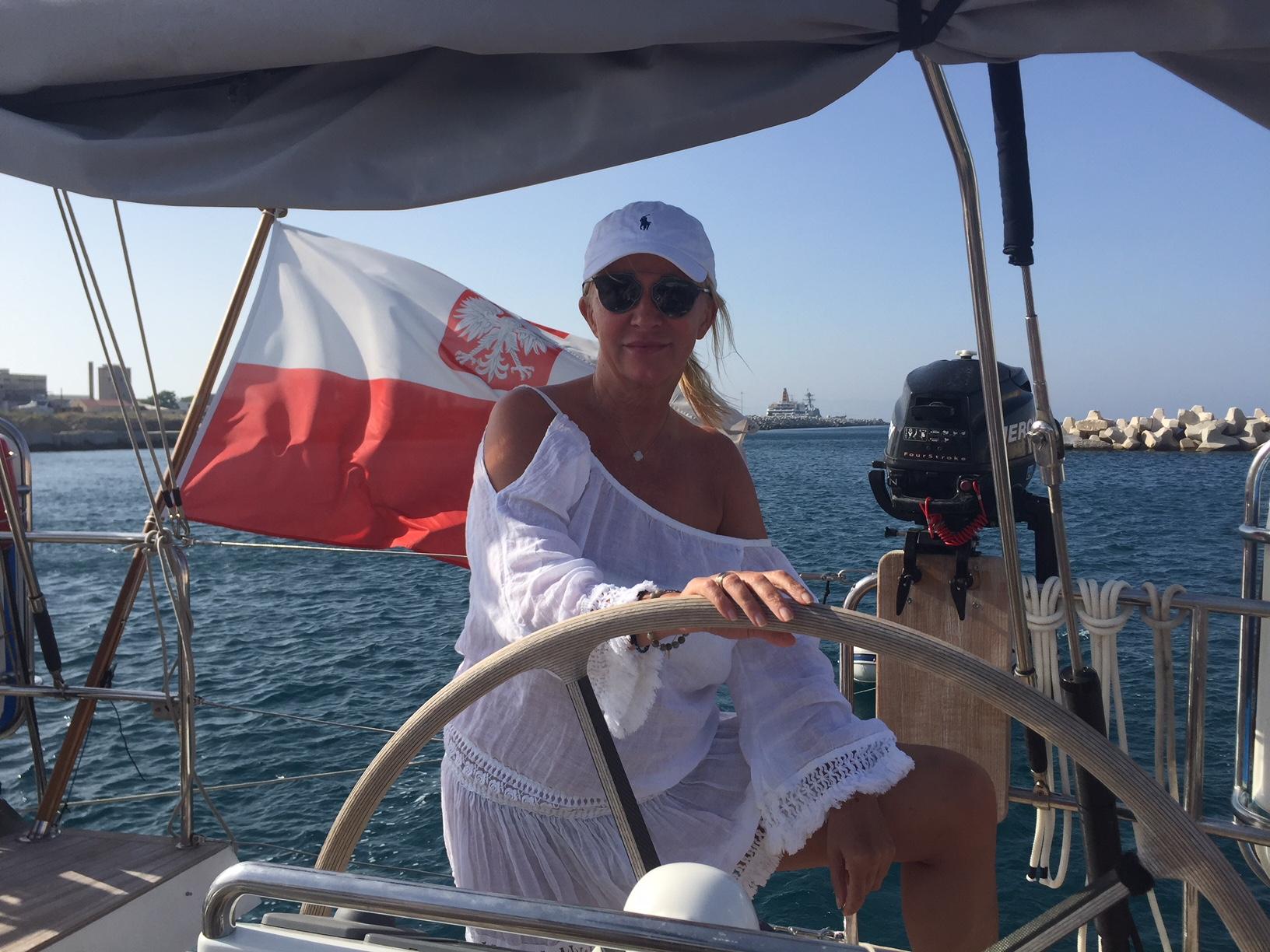 Mariola Bojarska-Ferenc 50+: Wakacje na jachcie z przyjaciółkami - BlogStar.pl
