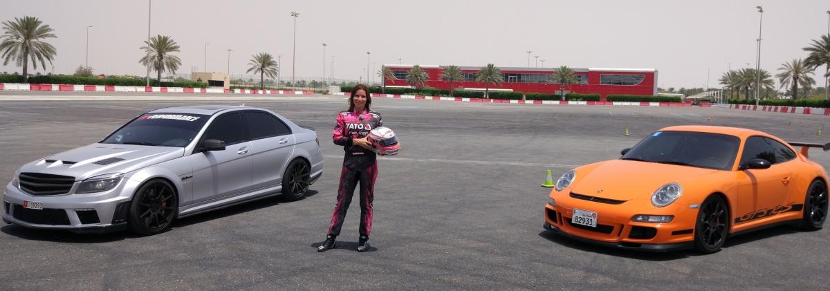 BlogStar: Karolina Pilarczyk w Abu Dhabi testowała najlepsze samochody świata - BlogStar.pl
