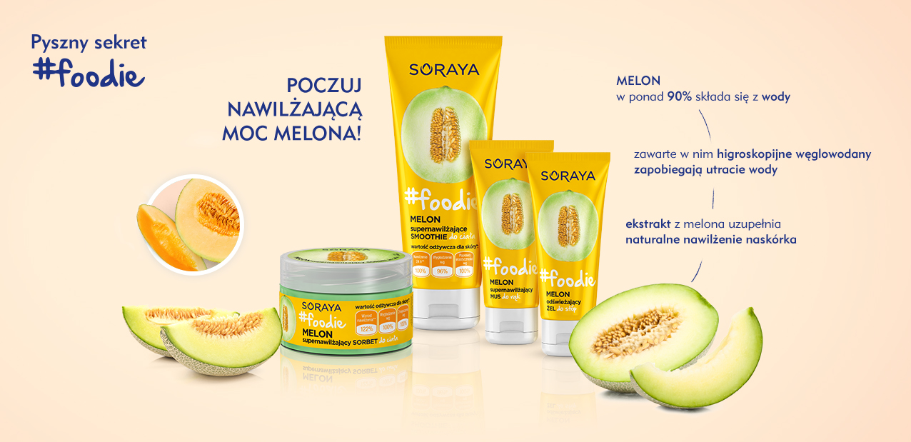 BlogStar: Deser dla skóry – nowa linia SORAYA #foodie - BlogStar.pl