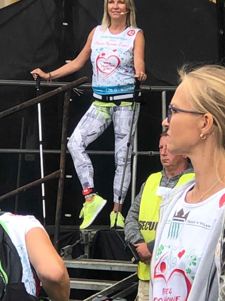Mariola Bojarska-Ferenc 50+: Trening dla 300 osób - BlogStar.pl