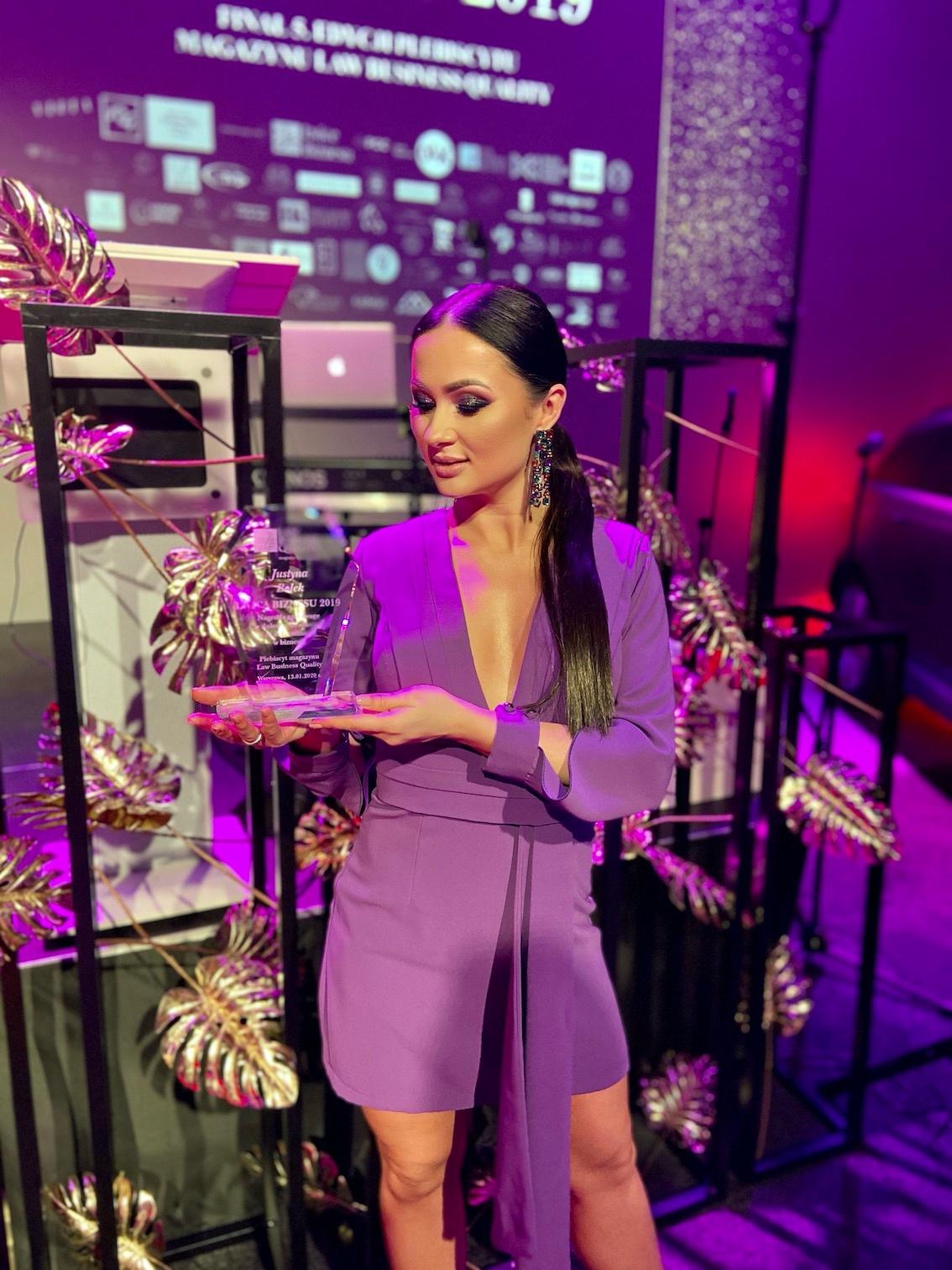 BlogStar: Justyna Bolek - Lwicą Biznesu 2019 - BlogStar.pl