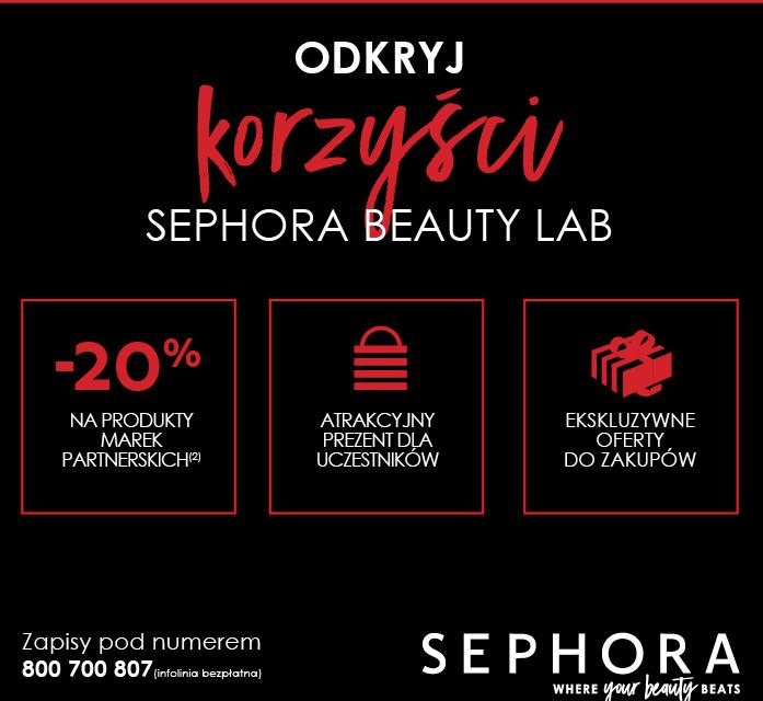 BlogStar: Piękno w 3 krokach - 10.edycja Sephora Beauty Lab - BlogStar.pl