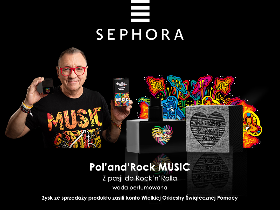 BlogStar: Sephora w rytmie Pol'and'Rock - BlogStar.pl